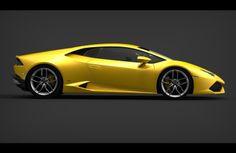 The Lamborghini Huracan.
