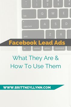 Wondering what the heck Facebook Lead ads are? This blog post takes you step-by-step, explaining exactly what they are and how YOU can use them to grow your business.  #RePin by AT Social Media Marketing - Pinterest Marketing Specialists ATSocialMedia.co.uk