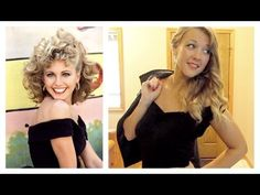 Halloween Tutorial: Sandy from Grease - YouTube
