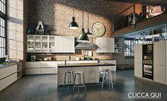 Kristin Jean saved to Industrial Stunning Industrial Kitchen Decor Ideas That You Can Create For Your Urban Living Space Industrial Kitchen Design No. Easy Industrial Kitchen Decor Ideas For Your Urban Cooking Space Modern Kitchen Cabinets, Kitchen Cabinet Design, Modern Kitchen Design, Kitchen Interior, Kitchen Decor, Kitchen Ideas, Kitchen Designs, Kitchen Islands, Kitchen Furniture