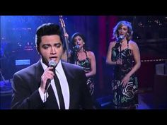 "Justin Shandor - ""Can't Help Falling In Love"" (Elvis Week) 2/6/2013 David Letterman"