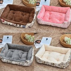 Cat Beds & Mats Pet Products Smart Pet Dog Cat Feeding Mat Antislip Square Pvc Pad Pet Dish Bowl Food Water Feed Placemat Puppy Bed Blanket Table Mat Easy Cleaning Neither Too Hard Nor Too Soft