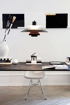 Interior Design Home Office & Work Space. Simply inspirational by www.ConfidentLiving.se!