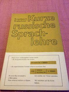 Kurze russische Sprachlehre, DDR-Buch