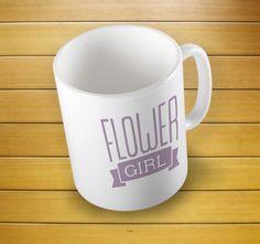 Flower Girl Feminist Mug