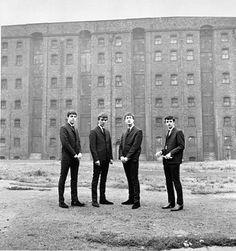 * The Beatles! * Warehouse, Liverpool. Late September 1962.