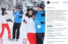 William ja Kate veivät lapsensa hiihtolomalle - katso herttaiset kuvat! - Sari Nurmo - Käyttäjiltä - Seiska Live