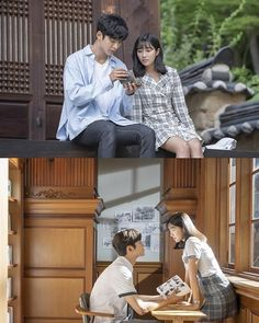 What would you do if you found out that you were, in fact, a character in a comic? And an extra character on top of that? Change the course of the story,. Kpop, Park Bo Young, I Believe In Love, Ulzzang Korean Girl, Cha Eun Woo, Teenage Years, Actors, Real Friends, Drama Movies