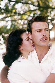 Natalie Wood & Robert Wagner, 1958.