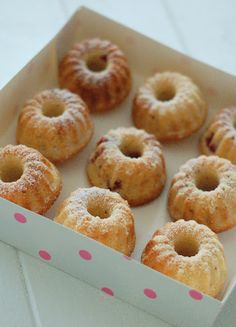 Kessy's Pink Sugar: Saftige Himbeer Kokos Gugels