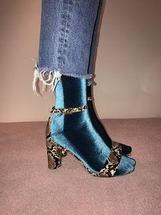 Velvet Sock's Aqua 1