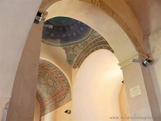 Casarano (Lecce, Italy) - Detail of the interiors of the Church of Santa Maria della Croce. Visit web site for more pictures!
