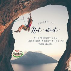 Health is not about the weight you lose but about the life you gain.