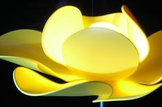 "Lamp Fleur ""Miss Sunshine"" by Bloomboom® / Design François-Marie GERARD & Irma BIRKA / Photo : Jan-Cornel EDER"