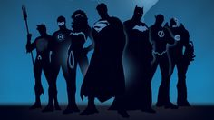 The post Minimalism Artwork Superhero Superman Batman Flash Dc Comics Silhouette The Flash Wonder Woman Green Lantern Aquaman Blue Background Marvel Wallpaper appeared first on Awesome HD Wallpaper. Justice League Aquaman, Justice League Superheroes, Justice League Characters, Dc Comics Superheroes, Dc Characters, Marvel Comics, Dc Comics Art, Marvel Vs, Superheroes Wallpaper