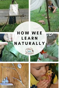 So many amazing ideas for nature activities for kids at home! These simple ideas are perfect for bringing nature learning into your home or classroom. Nice and easy ideas for toddlers and preschoolers! Nature Activities, Kids Learning Activities, Preschool Themes, Toddler Preschool, Nature Study, Nature Journal, Nature Crafts, Arts And Crafts Projects, Amazing Ideas