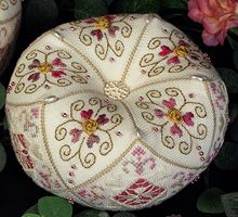15 sided biscornu - Victoria Sampler (I HEART THIS!)