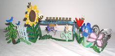 Original Karen Rossi Garden Menorah by KarenRossi on Etsy, $325.00