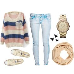 cute and casual stuff is always the best for back to school.