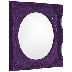 Howard Elliott Monique Royal Purple Mirror 51207RP