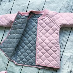 Unique Baby Girl Clothes, Cute Baby Clothes, Little Girl Fashion, Toddler Fashion, Kids Fashion, Baby Dress Design, Kids Coats, Stylish Kids, Baby Sewing