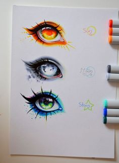43 Ideas for eye drawing reference awesome Art Drawings Sketches, Cute Drawings, Animae Drawings, Awesome Drawings, Art Drawings Beautiful, Fantasy Drawings, Pencil Drawings, Deviantart Zeichnungen, Regard Animal