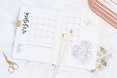 Bullet Journal, BuJo, Month, Layouts