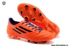 Adidas F50 AdiZero TRX FG Leather (Orange Black Purple)