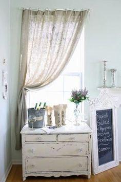 6 Versatile Clever Tips: Vintage Shabby Chic Decor shabby chic porch teas.Shabby Chic Home Decorations. Baños Shabby Chic, Cocina Shabby Chic, Shabby Chic Living Room, Shabby Chic Interiors, Shabby Chic Kitchen, Shabby Chic Homes, Shabby Chic Furniture, Antique Furniture, Burlap Window Treatments