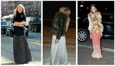 """Obsession: fur and maxi skirts (perfect for our LA """"winters"""")"""