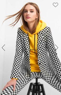 Erhältlich im online shop von orsay.com mit 4% Cashback auf jeden Einkauf als KGS Partner Blazer, Partner, Jackets, Women, Fashion, Checkerboard Pattern, Chic Womens Fashion, Shopping, Down Jackets