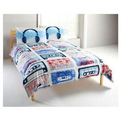 Music Music Decor, Sonos, Cool Beds, Bedspread, Toddler Bed, Decorations, Bedroom, Awesome, House