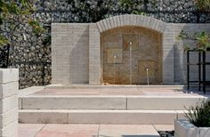Concrete Slab, Stone Walls, Tropical Plants, Natural Products, Continents, Natural Stones, Terrace, Woods, Inspired