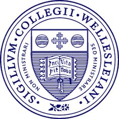 "One of my sisters is a proud graduate of Wellesley College, which has two Latin phrases on its seal. ""Non Ministrari Sed Ministrare (Not to be ministered unto, but to minister)"" curves around the shield in clear letters, while ""Incipit Vita Nova (Here begins a new life)"" is written in the opened book. Book, cross, and globe appear in a different arrangement on the Johns Hopkins shield."
