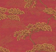 Wallpaper  Red Sumatra Tree Asian Inspired by Handcrafted360