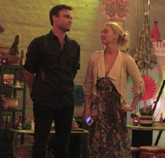 Offspring season 5 ep.2 - Nina and Patrick - It doesn't matter if Nina finds new love and will be happy again….she is a tragic heroine and the baby is fatherless … it is too sad :(