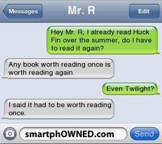 Page 12 - Autocorrect Fails and Funny Text Messages - SmartphOWNED Twilight is not worth reading