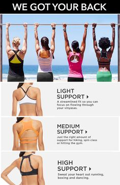 Keep your boobs comfy while working out. Breast pain is an issue for almost one in three runners. Just because women are wearing sports bras doesn't mean they're wearing an appropriately fitting, supportive sports bra. Get the support you need! Find your perfect bra on: http://www.fitnfab.us/join