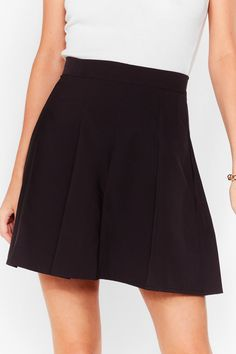 Balls In Your Court Pleated Mini Skirt | Nasty Gal