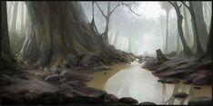 Forest scene by Icecoldart.deviantart.com on @deviantART