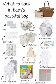 Pinterest Baby, Pregnancy Hospital Bag, Pregnancy Tips, Hospital Bag For Baby, Delivery Hospital Bag, Newborn Hospital Outfits, Pregnancy Workout Videos, First Time Pregnancy, Pregnancy Checklist