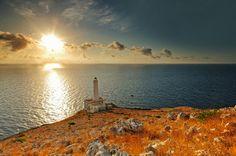   Capo d'Otranto, il punto più orientale d'Italia  