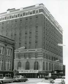 Springfield, Illinois. Abraham Lincoln Hotel 1968. Courtesy of Springfield Rewind and Sangamon Valley Archives.