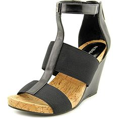 446f173eba12 BCBGeneration Womens BGBarlee Wedge Sandal Black 75 M US -- Want to know  more