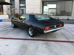 1973 Ford Mustang Grande 1971 Ford Mustang, Mustang Cars, Classic Mustang, Shelby Gt500, Pontiac Firebird, Hot Wheels, Cars Motorcycles, Muscle Cars, Dream Cars