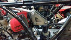RD hybrid bellcrank suspension Bike Builder, Trident, Cars, Autos, Car, Automobile, Trucks