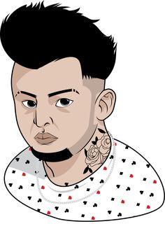 Job for the Brazilian Dj DJ Pikeno. Good fun doing this one.  Again: Illustrator. =D