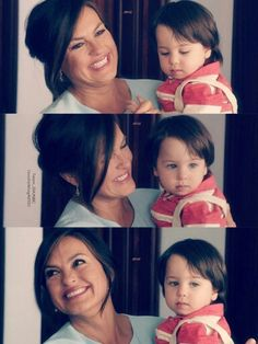 Mariska hargitay and baby noah