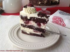 Švarcvaldský dort Tiramisu, Tart, Cheesecake, Cupcakes, Ethnic Recipes, Chocolate Cakes, Food, Cake, Meal