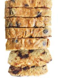 Grain-free Chocolate Chip Banana Bread - rachLmansfield
